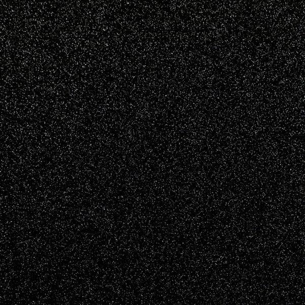 Klebefolie Glitzer 7017 - Schwarz metallic