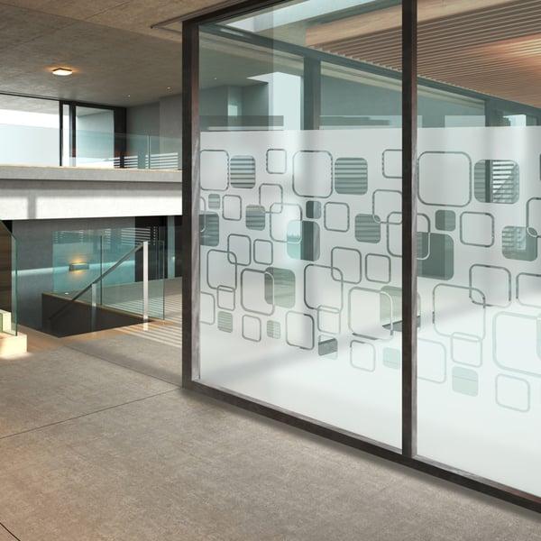 Sichtschutzfolie im Lounge Decor Design