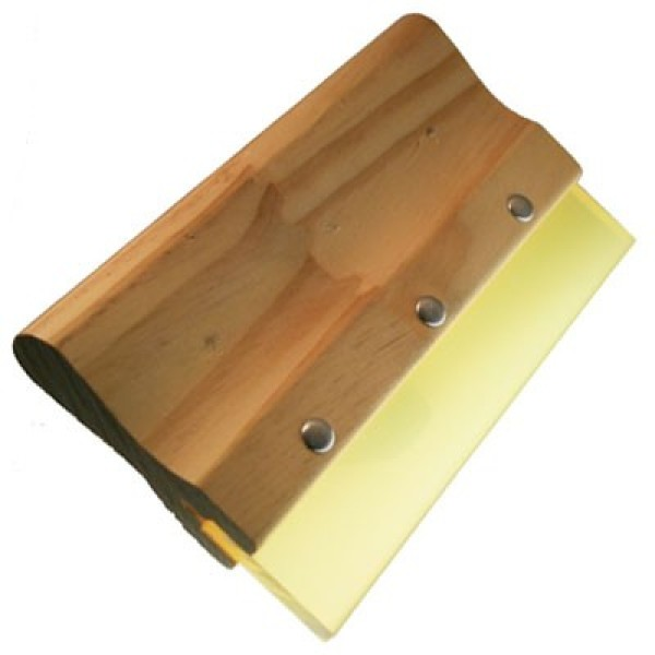 Professional wooden fountain blade, 20cm – to sweep films easily