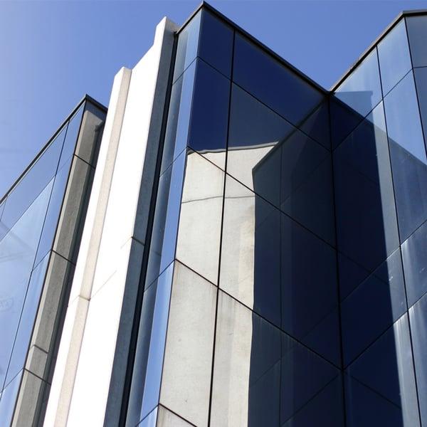 Statische Fensterfolie zur Innenmontage - Dunkelsilber